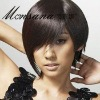 fashionable short full lace wigs for beautiful ladies