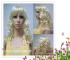 fashionable white curly women's charming wigs YSL11-2023E