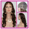 fast delivery 100% human hair lady full lace wig with factory price