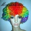 football fans wig/flag fans wig
