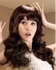 free shipping fashion lady human hair wig
