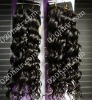 french curly brazilian human hair weaving 12inch to 22inch in stock