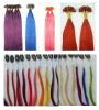 fresh colors prebonded hair extension