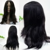 full lace wig straight Brazilian remy virgin hair French transparent lace