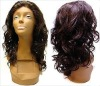 gorgeous indian human remy hair body wave full lace wigs