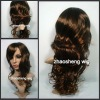 guaranteed top quality Indian remy hair curl full lace wig
