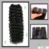 hair weaving machine made curly weft