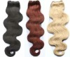 """hair weft indian human remy hair 18"""" wave hair extensions"""