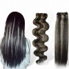 hair weft/weaving,100% human hair weave extension