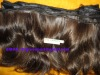 hand tied 100%remy human hair weft