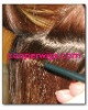 hand tied PU skin weft with finest quality hair