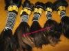 hand weft wavy hair