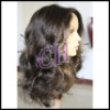 high quality 100%Indian virgin remy hair body wave full lace wigs