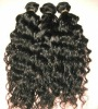 high quality 100% human remy curly hair weaving