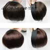 high quality and beautiful hotsale human hair bang