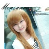 high quality beautiful and charming long straight synthetic wigs/women's wigs