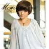 high quality fashionable short synthetic wigs for women