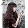 high quality long cerl synthetic wigs