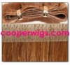high quality remy human indian pu skin weft
