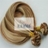 high quality silky straight hand-tied hair weft