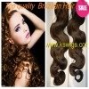 high quality  tight human hair  weft  body wave