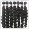 high quality virgin human hair, natural color, straight/body/deep wave in stock