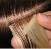 high quality virgin human hair thin PU skin weft