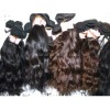homeage wavy peru weft virgin nature hair in stock