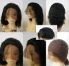 hot sale 100% indian full lace wig for women