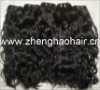"hot sale brazilian hair 12""-30"" natural curl human hair machine weft"