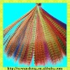 hot sale colorful synthetic feather hair extension