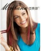 hot selling straight mixed color human hair lace wig