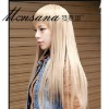 hotsale beautiful and charming long straight human hair wigs