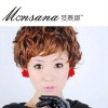 hotsale beautiful and charming short curl human hair wigs