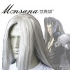 hotsale cool Final Fantasy VII 7 Sephiroth Cosplay/doll/party synthetic wig