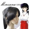 hotsale cool Inuyasha Sango Cosplay/doll/party synthetic wig