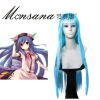 hotsale cool Touhou Project Tenshi Cosplay/doll/party synthetic wig