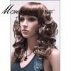 hotselling and charming full lace wig/wigs for women