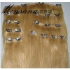 hotselling clip-in human hair extension