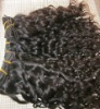 human hair curly hair weft