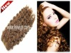 human hair extension water wave 100g/pcs