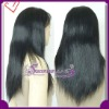 in stock silk straight  Indian remy hair lace front wig accept paypal