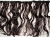 indian curly hair weft 100%hair weaving not mix any synthetic hair