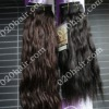 indian hair wefts with no tangle in factory price