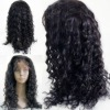 indian human hair full lace wig with baby hair