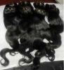 indian machine human hair weave