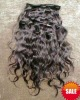 indian remi curly hair extensions clip in