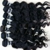 indian remy hair 100% pure indian hair machine weft