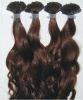 indian remy hair talian Keratin U-Tip Pre-bonded hair extensions