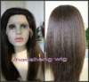 indian remy hair yaki full lace wig